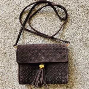 Aspects by Lisette Convertible Crossbody Suede Bag